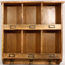 Rustic Wooden Storage / Letter Rack