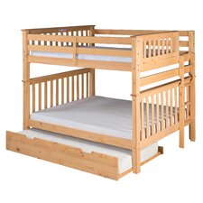 Santa Fe Mission Tall Bunk Bed with Trundle