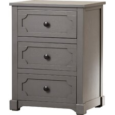 Fredericktown 3 Drawer Side Chest by Alcott Hill