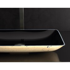 Nek Lux Rectangular Vessel Bathroom Sink by Maestro Bath