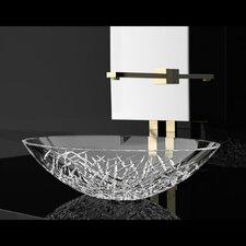 De Medici Ice Oval Vessel Bathroom Sink by Maestro Bath