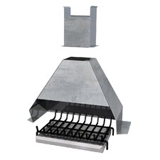 Conversion Kit for Wood-Fired Barbecues