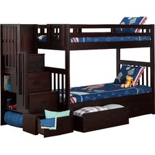 Margery Twin Bunk Bed with Storage