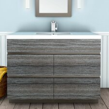 Boardwalk 48 Single Bathroom Vanity Set by Cutler Kitchen & Bath