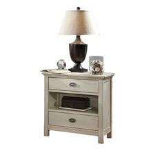 Pacifica 2 Drawer Nightstand by Fairfax Home Collections