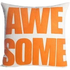 Celebrate Everyday Awesome Linen Throw Pillow