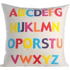 Play Room ABC Eco-Throw Pillow