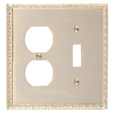 Egg and Dart Outlet Plate