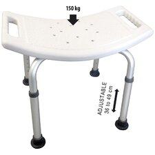 Adjustable Metal Free Standing Shower Chair