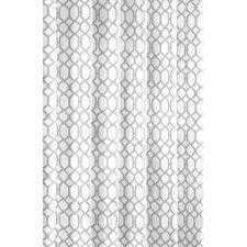 Shoreline Trellis Cotton Shower Curtain by Tommy Bahama Bedding