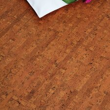 "Colors 12"" Cork Flooring in Titan Brown"