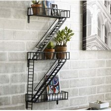 Fire Escape Shelf by Design Ideas