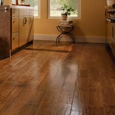 "5"" Engineered Hickory Hardwood Flooring in Cajun Spice"