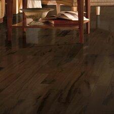 "Global Exotics 4-18/25"" Engineered Exotic Hardwood Flooring in Tigerwood Brazilian Taupe"