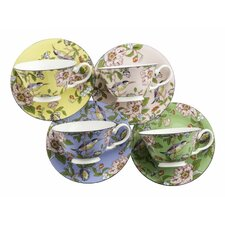 Pembroke Teacup and Saucer (Set of 4)