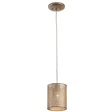Casablanca 1-Light Mini Foyer Pendant