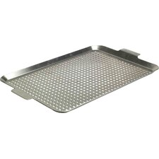 Stainless barbecuing Grid