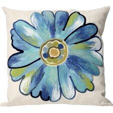 Kara Daisy Outdoor Throw Pillow