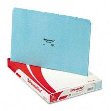 Top Tab File Guides, Blank, 1/5 Tab, 25 Point Pressboard, Legal, 50/Box