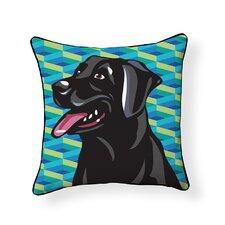 Pooch Décor Labrador Indoor/Outdoor Throw Pillow