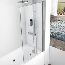 Aurora 150cm x 80cm Pivot Bath Screen
