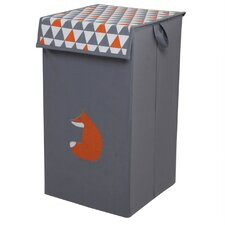 Playful Fox Laundry Hamper