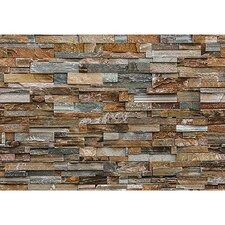 Colorful Stone Wall Mural