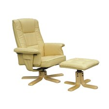 Bessie Recliner and Footstool