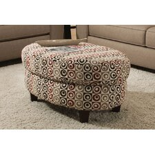 South Street Cocktail Ottoman by Red Barrel Studio