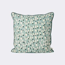 Spotted Cotton Throw Pillow