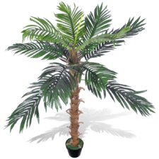 Artificial Coconut Palm in Pot
