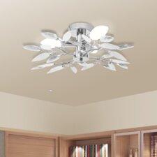 3 Light Semi Flush Ceiling Light