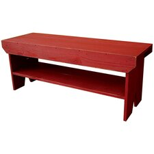 Wood Storage Entryway Bench by Sawdust City
