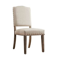 Pompon Nailhead Side Chair (Set of 2)