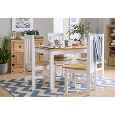 Shadow Dining Set with 4 Chairs