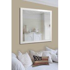 White Wall Mounted Mirror