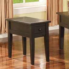 White Mountain End Table by Loon Peak