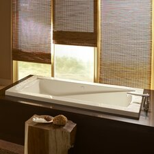 Green Tea 76.26 x 40.5 Everclean Air Bathtub by American Standard