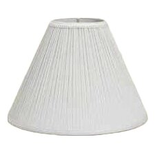 "10"" Pleated Linen Empire Lamp Shade"