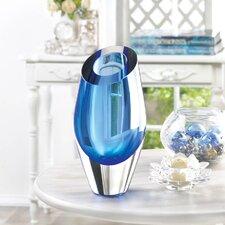 Cut Glass Cylinder Vase