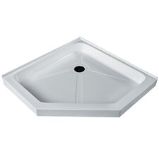 36 x 36-in. Short - Low Profile Neo-Angle Shower Base