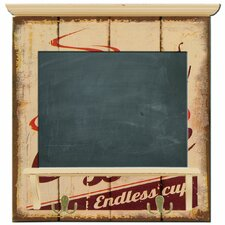 Coffee Wall Mounted Chalkboard 47cm H x 45cm W