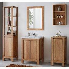 60 cm Waschtisch Classic mit Spiegel und Armatur