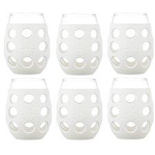 6 Piece 11 oz Wine Glass Set