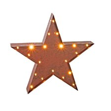 Lighted Star Marquee Sign