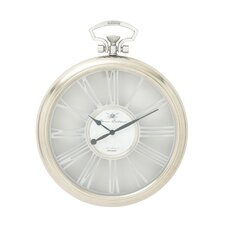 Aluminum and Iron Wall Clock