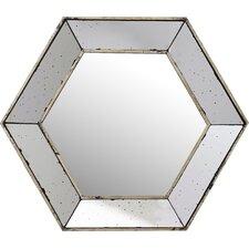 Gia Hexagon Wall Mirror