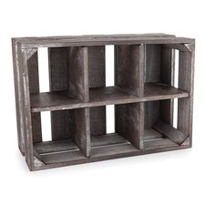 Marketplace Wooden Display Crate