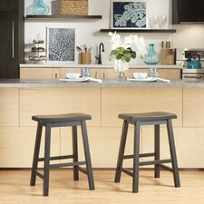 Elise 24 Bar Stool (Set of 2) by August Grove