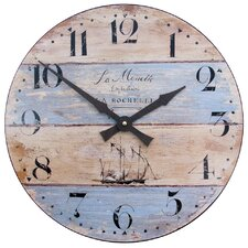 Garrisons 36cm Driftwood Effect Wall Clock